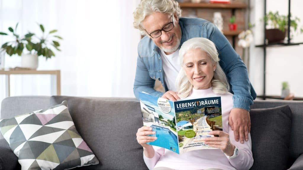 Erfolgreiche Kundenmagazine für Makler